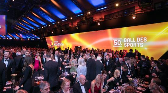 50. Ball des Sports in Wiesbaden