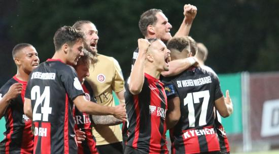 Seit 1926 kicken die Jungs vom SV Wehen Wiesbaden.